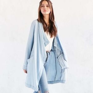Silence + Noise chambray Urban Outfitters XS